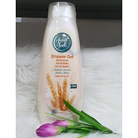 Gel Tắm Dưỡng Ẩm trắng Da  Fresh Feel - Chai 750ml