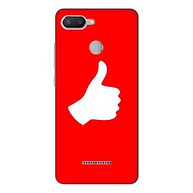 Ốp lưng điện thoại Xiaomi Redmi 6 hình Bạn là Số 1