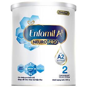 Sữa bột Enfamil A2 Neuropro 2 cho trẻ từ 6 - 12 tháng tuổi – 350g