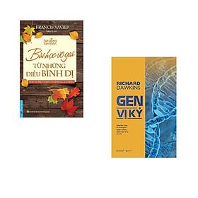 Combo 2 cuốn sách: Bài Học Vô Giá Từ Những Điều Bình Dị + Gen vị kỷ
