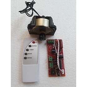 Combo bộ điều khiển quạt từ xa + bộ tuốc năng điện (biến quạt thường thành quạt điều khiển)