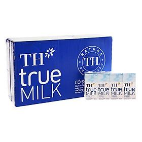 Thùng Sữa tươi tiệt trùng Có đường TH True Milk (180ml x 48 hộp)