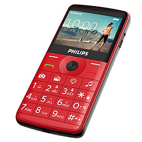 Philips (PHILIPS) E209J candy bar button China Unicom mobile phone elderly function machine coffee black