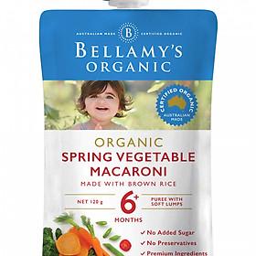 Hỗn Hợp Rau Quả, Nui Hữu Cơ Xay Nhuyễn Bellamy's Organic