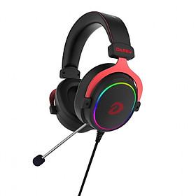 Tai Nghe Gaming Dareu EH925 RGB Black Red (Mẫu Mới 2020) - Hàng Chính Hãng