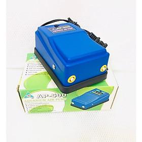 Máy sủi oxy 2 vòi siêu êm AP 500 có 2 chế độ sủi phù hợp cho hồ cá cảnh nhỏ