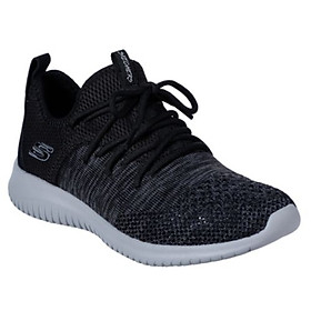 Giày Sneaker Thể Thao Nữ Skechers 13100-BKGY
