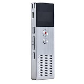 Máy Ghi Âm Kỹ Thuật Số Tích Hợp Máy Nghe Nhạc MP3 (8GB) - Bạc