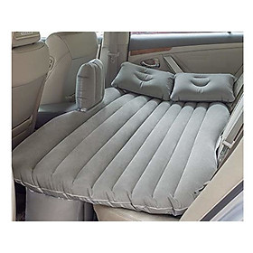 Giường đệm, nệm hơi thông minh du lịch cho ôtô, xe hơi + Kèm bơm điện, vòi bơm đa năng.