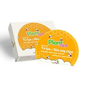 Mặt Nạ Tơ Lụa Sữa Ong Chúa LaFla Plant Mask - Hộp 10 Miếng