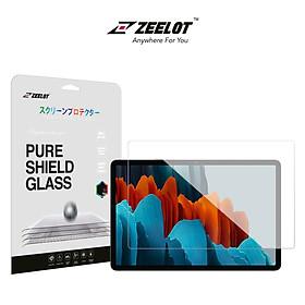Dán cường lực Zeelot Pure Shield Glass Cho Galaxy Tab S7/ Tab S7 Plus/ Tab S7 FE - Hàng Chính Hãng