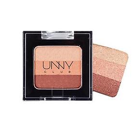 Hộp phấn mắt nhũ 3 màu Unny Club Triple Shadow - thương hiệu Unny Club