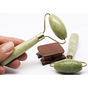 Cây Lăn Massage da mặt bằng đá ngọc