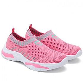 Giày len cho bé gái 4 - 15 tuổi cổ chun thể thao và cá tính GE07