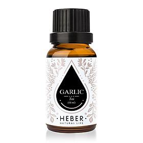 Tinh Dầu Tỏi Garlic Essential Oil Heber   100% Thiên Nhiên Nguyên Chất Cao Cấp
