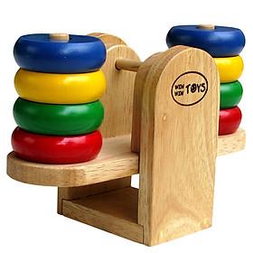 Đồ chơi gỗ Cân Bập Bênh Mk