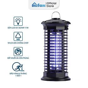 Đèn Bắt Muỗi Cao Cấp 2021 MIFAN - BH 6 Tháng - Đèn LED 11W Công Suất Cao Ánh Sáng Tím 365 Nano Wave Thu Hút Côn Trùng