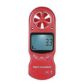 8 in 1 Handheld Digital Anemometer Wind Speed/Temperature/Humidity/Wind Chill/Heat Index/Dew Point/Barometric