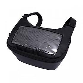 Túi treo đầu ghi đông xe máy xem điện thoại, chứa đồ