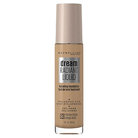 Maybelline Dream Radiant Liquid Foundation 90 Honey Beige