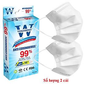 Khẩu Trang Wakamono - Gel rửa tay khô St Beauty - Bộ đôi hoàn hảo kháng khuẩn hiệu quả tối đa - Chính Hãng