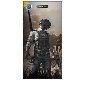 Ốp lưng dành cho điện thoại SONY XZ1 hình PUBG Mẫu 10