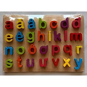 Bảng chữ tiếng Việt và số nổi cao cấp 20x30 cm