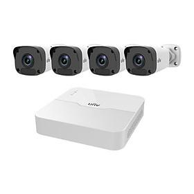 Bộ Kit 4 kênh Camera IP PoE UNV KIT/301-04LB-P4/4*2122LR3- PF40-E