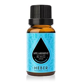 Tinh dầu Bạc Hà Lục Spearmint Essential Oil Heber | 100% Thiên Nhiên Nguyên Chất Cao Cấp