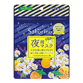 Mặt Nạ Buổi Tối Saborino Good Night Sheet Mask (Gói 5 Miếng)