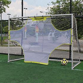 Football Net Goal Practical Yellow White 5 Person System Ball Sports Goalkeeper-3