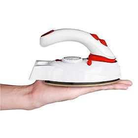 Bàn ủi siêu nhỏ bỏ vừa vỏ xách , cầm tay du lịch tiện dụng màu trắng