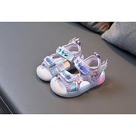 Giày sandal bé gái đèn led