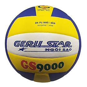 Bóng chuyền dán Gerustar Số 5 - GS9000 (Tặng Băng dán thể thao + Kim bơm + Lưới đựng)