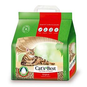 Cát Vệ Sinh Hữu Cơ Vón Cục Khử Mùi Và Vi Trùng Original Cat's Best CBOR05L (2.1kg)