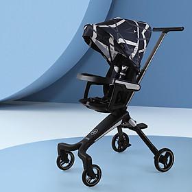 Xe đẩy em bé 4 bánh  thiết kế Đức, 2 chiều ngả lưng 3 tư thế