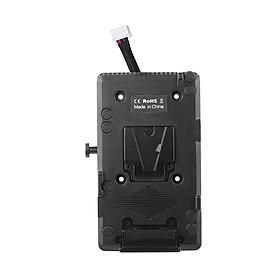 Đế Chuyển Đổi Pin Khóa Chữ V Andoer BMD Cho Máy Ảnh Blackmagic URSA/ URSA Mini 4K/ URSA Mini 4.6K/ URSA Mini Pro (11V-16.8V)