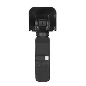 Sunnylife Camera Lock Lens Cover Sunshade Hood Caps Guard Gimbal Protector For DJI OSMO Pocket Accessories - Black