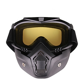Motorcycle Cross Country Mask Tactical Goggles Windproof Sand-proof Breathable Riding Outdoor Sports Mirror Glasses