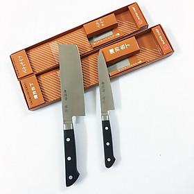Set 2 Dao Bếp cao cấp cán nhựa ABS Tiêu chuẩn Nhật Bản (1 dao làm cá, 1 dao thái) Dao-AF