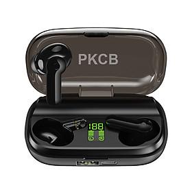 Tai Nghe Bluetooth không dây True Wireless PKCB, Màn Hình Led hiển Thị Pin - Hàng chính hãng