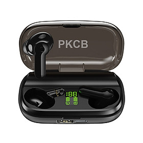 Tai Nghe Không Dây Chống Nước Ipx5, Tai Nghe Nhét Tai Mini Bluetooth PKCB - Hàng Chính Hãng