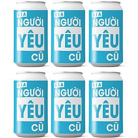 Bia Người Yêu Cũ - Package 6 lon xanh