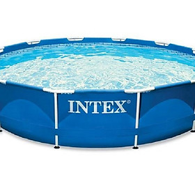 Bể bơi phao khung kim loại 366*76cm INTEX 28210