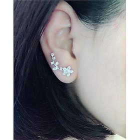 hoa tai bạc nữ  vành  hoa mai