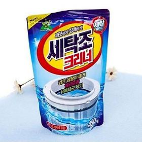 Bột tẩy lồng máy giặt 450gram Gói vệ sinh máy giặt công nghệ Hàn Quốc
