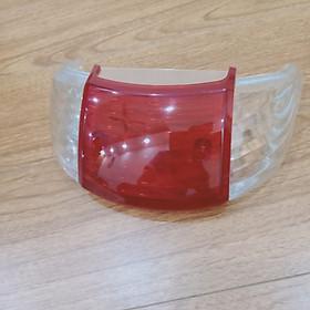 Bộ 2 kết hợp 2 nắp xi nhan sau màu trắng và 1 nắp đèn hậu màu đỏ dành cho xe Wave - Nắp xi nhan Wave - B382