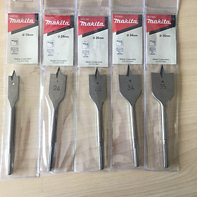 2 Mũi khoét gỗ dẹt 15x150mm Makita D-07727