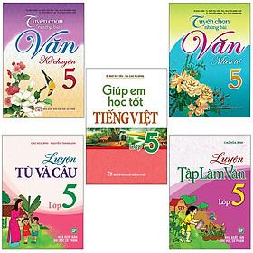 Sách: Combo 5 Cuốn Học Tiếng Việt Toàn Diện Cho Học Sinh Lớp 5