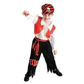 Hình đại diện sản phẩm Đồ Hóa Trang Halloween Cho Bé Trai - Cướp Biển | Pirate Boy HMB0054